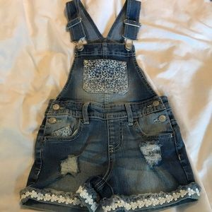 Jordache -washed & never worn overall 4-5t
